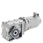 Купить 1FG1507-1UF03-2FV1-ZD21K06K82N30W90X59 (1FG15071UF032FV1ZD21K06K82N30W90X59, 1FG15O7-1UFO3-2FV1-ZD21KO6K82N3OW9OX59, 1FG15O71UFO32FV1ZD21KO6K82N3OW9OX59) SIMOTICS S-1FG1 SYNCHRONOUS SERVO GEARMOTOR BEVEL GEARING Bevel gearbox with disconnect clutch KHF69 MOTOR TYPE CT 600V AH80 MMAX=25 SOLID SHAFT V35 X 70 RESOLVER MULTIPOLE WITH DRIVE-CLIQ INTERFACE, FLANGE B5; GEAR RATIO: 65.57 N1MAX=4500 RPM N2MAX=69 RP